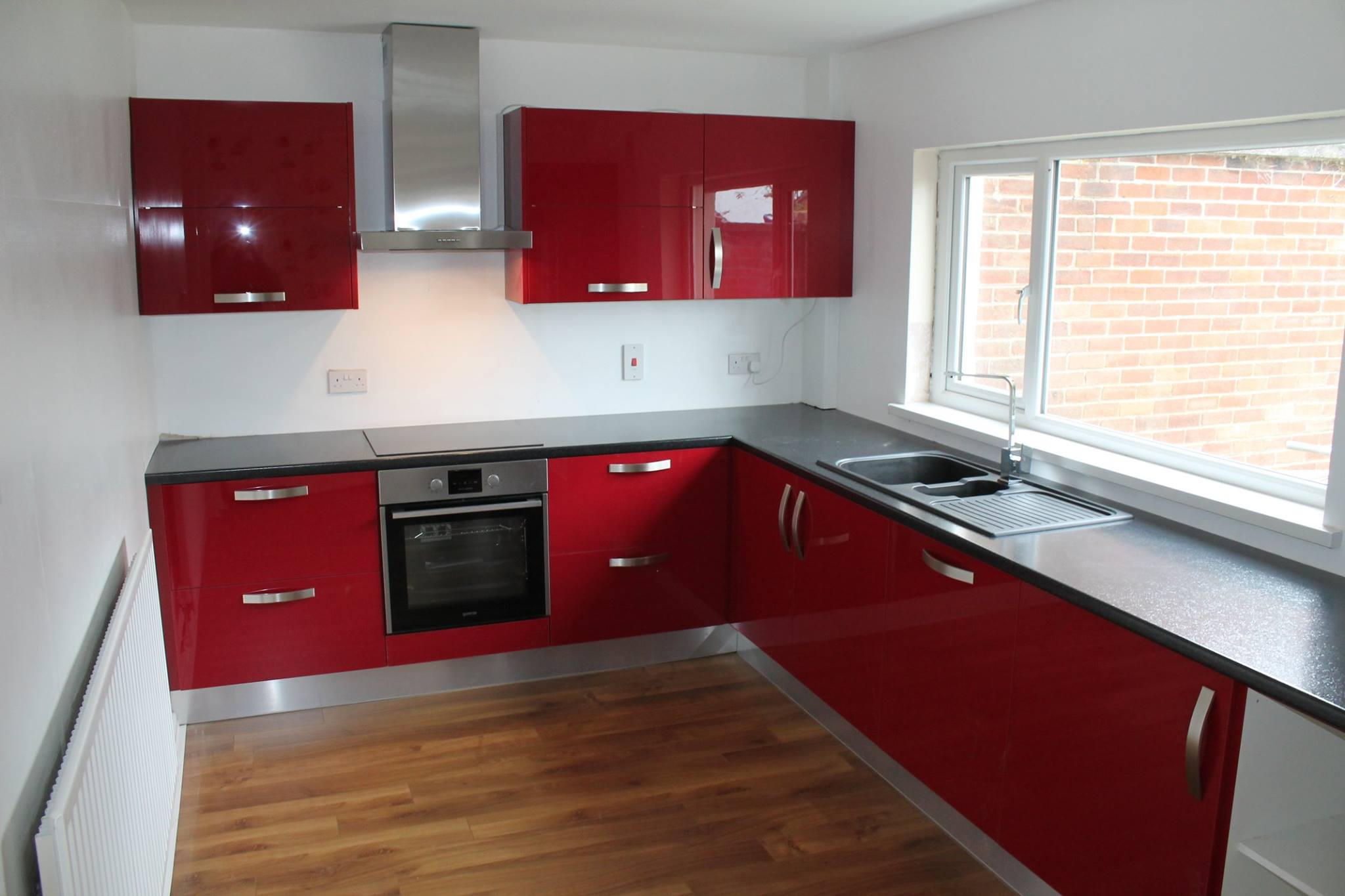 Kitchen With Red Appliances Real Kitchens Olooco